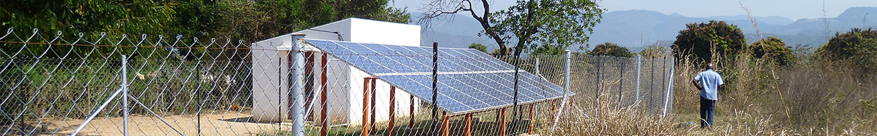solar mini grid system at Chinhambuzi
